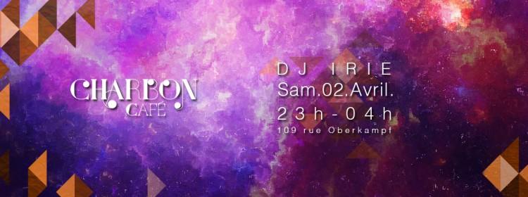 CHARBON-CAFE-DJ-IRIE-