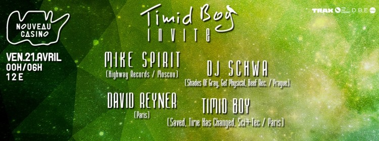Timid Boy Invite 21-04-17